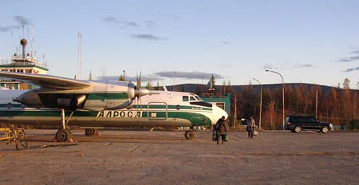 онлайн табло аэропорта Ленск