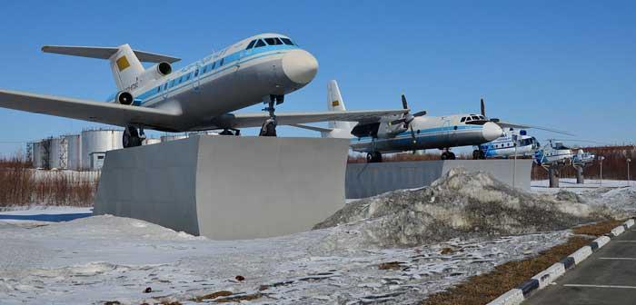 Аэропорт Салехард музей полярной авиации