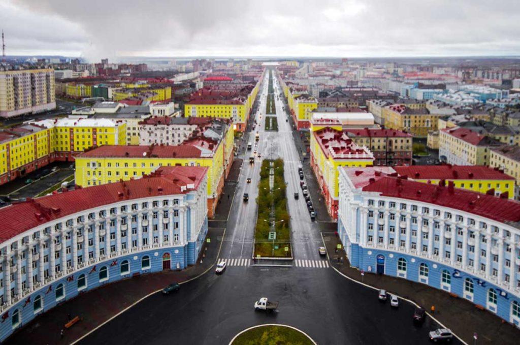 Купить авиабилеты Москва Норильск дёшево