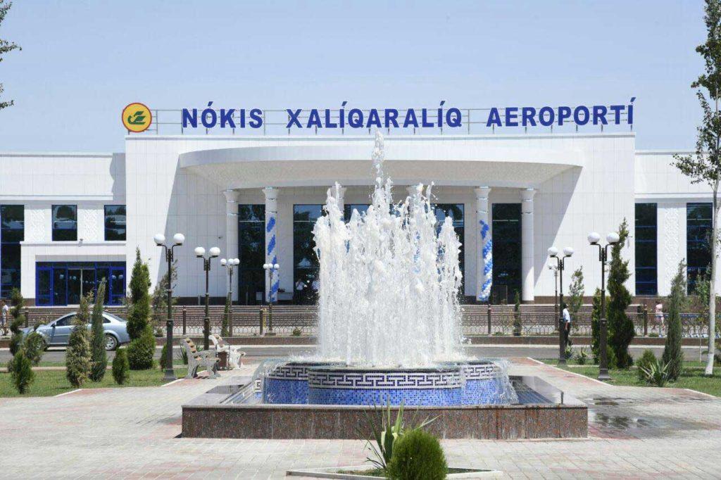 Новый терминал аэропорта Нукус