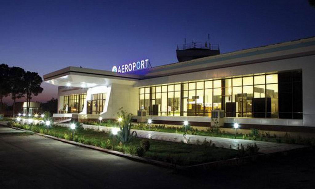 Новый терминал аэропорта Термез