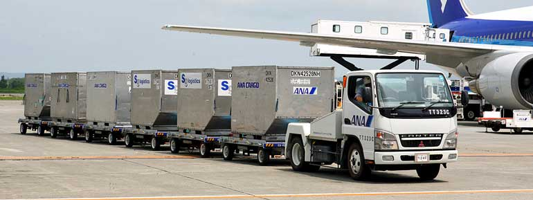 Авиаконейнеры для перевозки грузов на воздушных судах