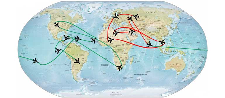Коды аэропортов ИАТА, ИКАО и РФ