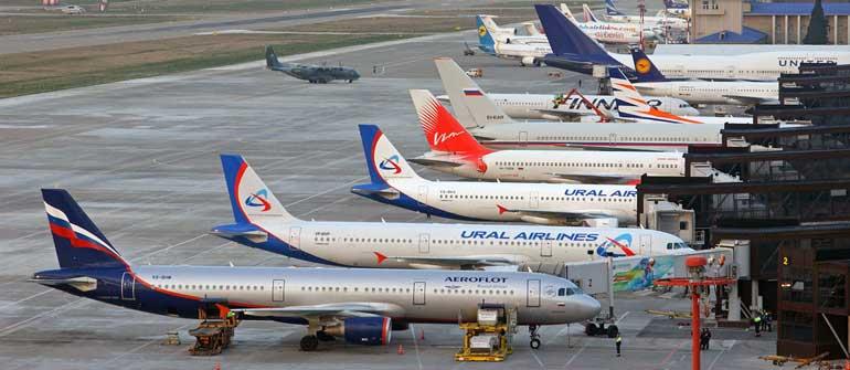 Коды авиакомпаний ИАТА, ИКАО и РФ