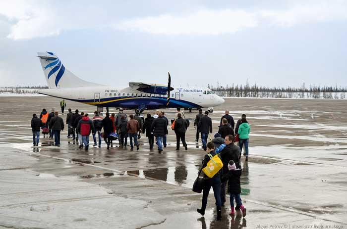 Аэропорт Полярный авиабилеты