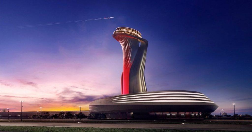 Диспетчерская вышка - символ нового аэропорта